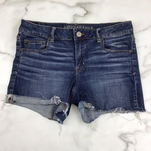American Eagle Superstretch Shorties Jean Shorts